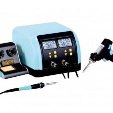 Так выглядит Паяльная станция цифровая с оловоотсосом ZD-8917B, 60W/90W, 160-480°C  по низкой цене.