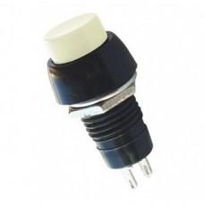 Кнопка PBS-20А с фиксацией ON-OFF  , 2pin, 1А, 250V, белая