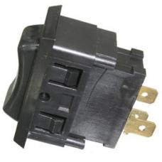Переключатель ASW-06-103 ON-OFF-ON  , 3pin, 12V, 20А, чёрный