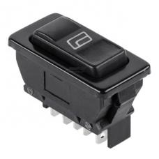 Переключатель cтеклоподъёмника с подсветкой ASW-02D  , 5pin, 12V, 20А