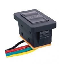 Переключатель cтеклоподъёмника с подсветкой и проводами ASW-21D  , 12V, 20А