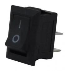 Перемикач mini SMRS-101-1 ON-OFF, 2pin, 3A, 220V, чорний