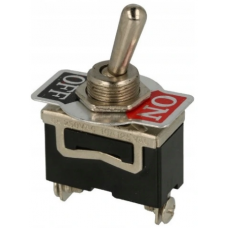 Toggle switch KN3(B)-101A (ON-OFF), 2pin, 6A 250VAC