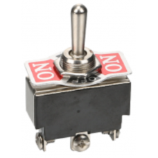 Toggle switch KN3(B)-102 (ON-ON) 3pin, 6A, 250VAC