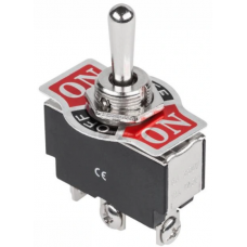 Toggle switch KN3(B)-123A (ON)-OFF-(ON) , 3pin, 10A, 250VAC