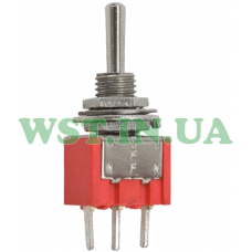 Тумблер MTS-103-А2 (ON-OFF-ON) , 3pin, 3A, 250VAC