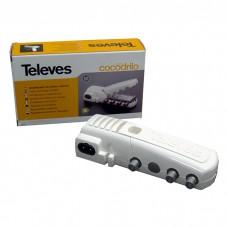 Абонентський підсилювач Televes 439702 Cocodrilo