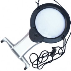 Magnifier for embroidery MG11В-1 illuminated, 2.25 X Ø100мм, 5X Ø25mm manual