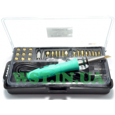 It looks like Soldering iron -cautery ZD-972G 10/30W +26 nozzles in a box at a low price.