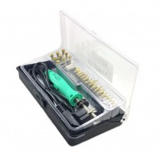Set Zhongdi ZD-972А for engraving machine, professional 30W, soldering iron, 19 tips
